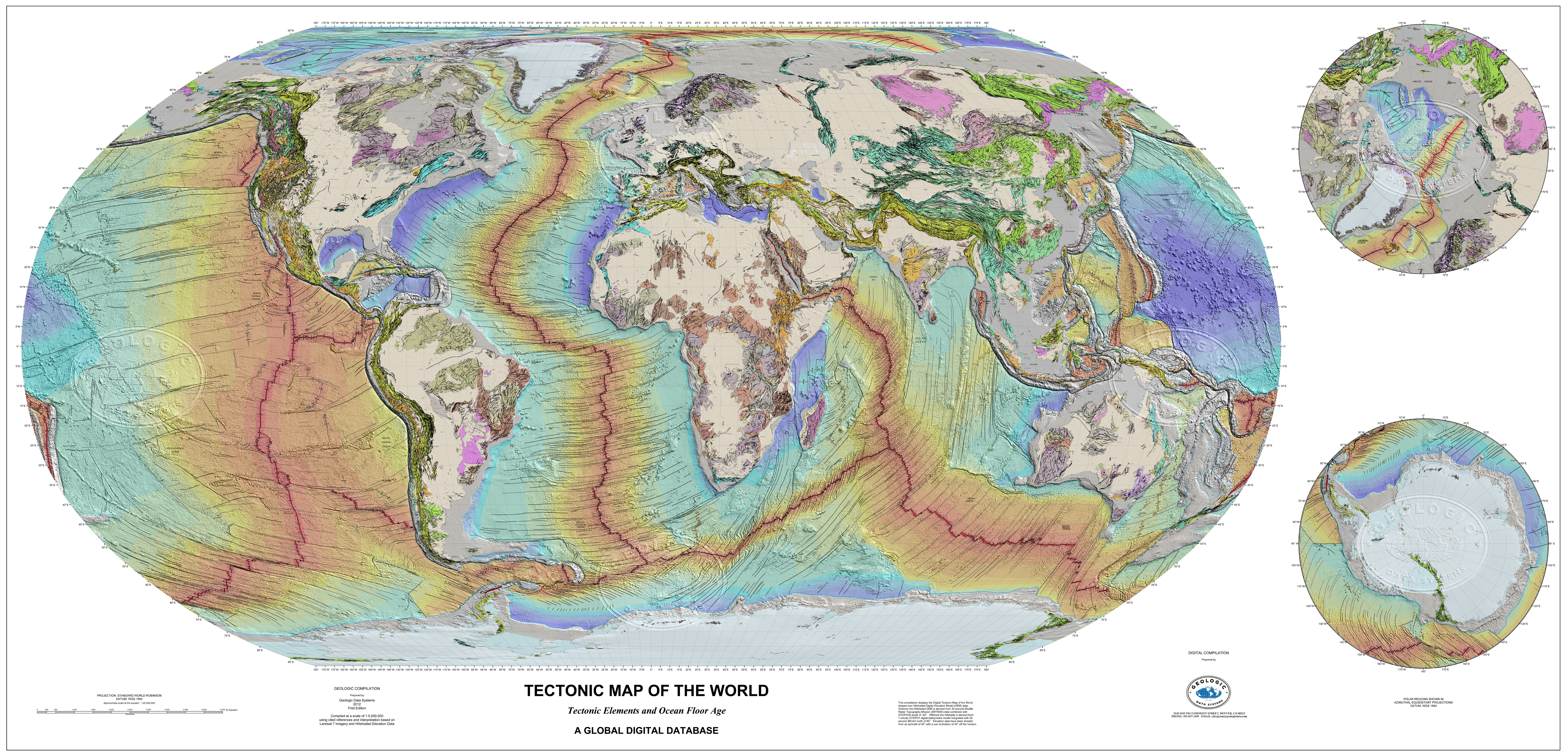 GDS Geologic and Tectonic Maps   Geologic Data Systems